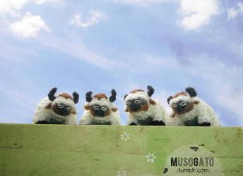 Crochet Appa Herd by musogato