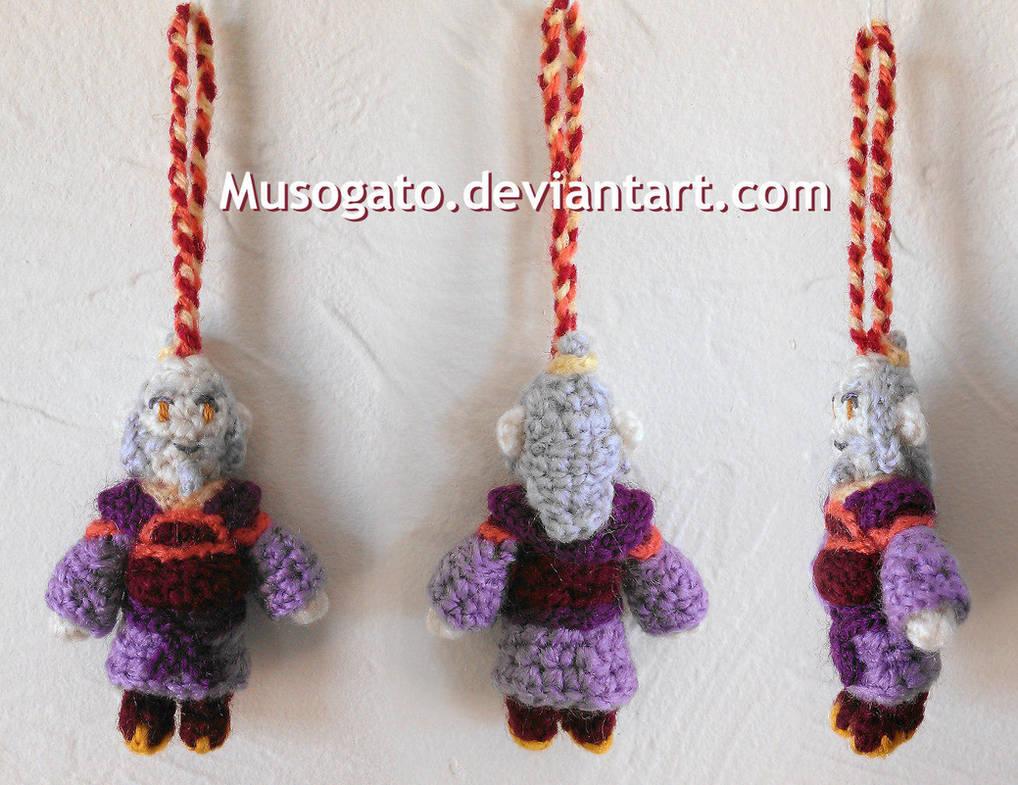 Iroh Crochet Amigurumi by musogato