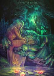 Lady of the lake by PerlaMarina