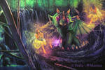 Nannies for dragon baby by PerlaMarina