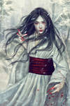 Yuki-onna by PerlaMarina
