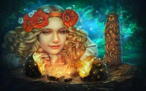 Last Zmey Gorynych by PerlaMarina