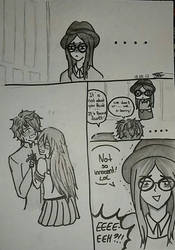 When you ship your sister! XD by PawinaChan