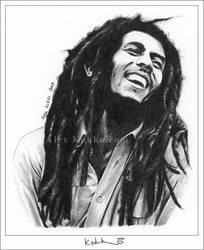 Bob Marley by donalbain