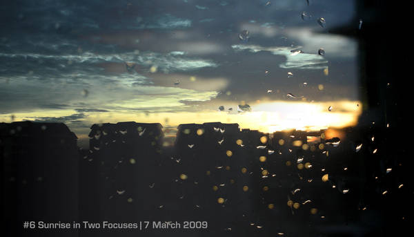 Panorama No.6 Bifocal Sunrise by Martolod