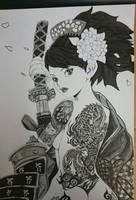 Muramasa Momohime by tenshimeo