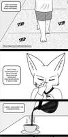 The 10 years ago mistake. The Mark extra page 16 by Koraru-san