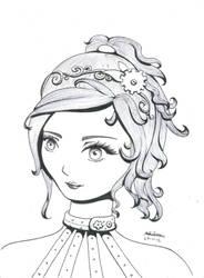 Steampunk Girl by Gabysosa