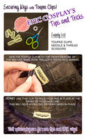 Tips and Tricks - Toupee Clips by EpicCosplayWigs