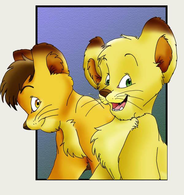 Guya and Oryan Again- Colored by HuntressGuya
