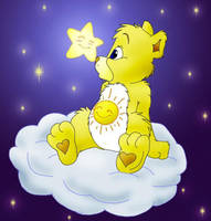 Funshine Bear is a GIRL by HuntressGuya
