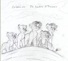 The Leaders of Tomorrow by HuntressGuya