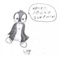 Lingo The Evil Penguin by HuntressGuya