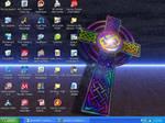 Celtic Cross Desktop by HuntressGuya