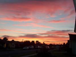 Sunset in My Neighborhood by HuntressGuya