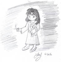Candle Girl by HuntressGuya
