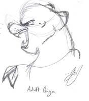Guya Snarl by HuntressGuya
