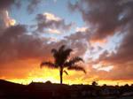 California Sunset by HuntressGuya