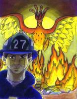 Fahrenheit 451 Illustration by HuntressGuya