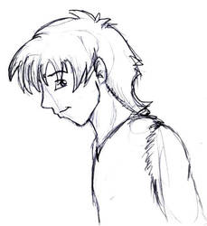 Hector Sketch by HuntressGuya
