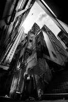 Hong Kong : Sky glimpse by romainjl