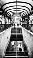 Hong Kong : Mong Kok subway by romainjl
