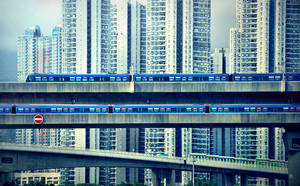 Hong Kong Through the city by romainjl