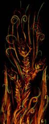 abstract Phoenix by onikafei