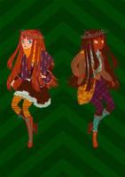 Mori girls by nei-no
