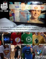 Sheldon Cooper PSP Theme by BigBangGoesTheTheory