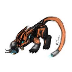Valkyr Dragon by RaiKitamatsu