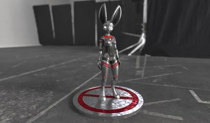 Robot Bunny! by RaiKitamatsu