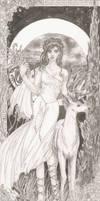 Artemis by AdelinaVixen