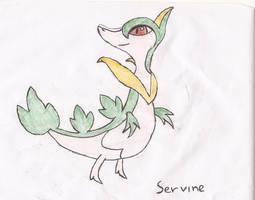 Servine by Darkgatomon12