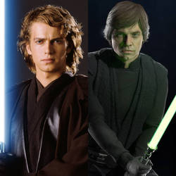 Anakin Skywalker or Luke Skywalker?? by JOSHRAMBO123