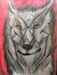 Wolf Portrait  by JOSHRAMBO123
