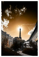 Le lampadaire parisien by leonard-ART