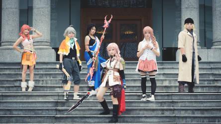 Final Fantasy XIII -the cursed L'cie- by Ayami08