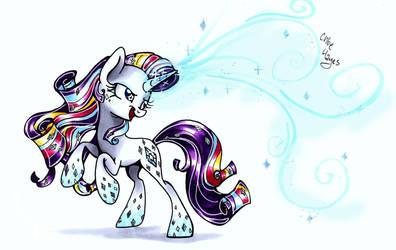 Rainbow Power Rarity by frostykat13