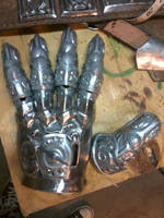 Bladeslinger Hand by TimeTurbine