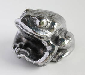 Single piece 12ga Steel Frog by TimeTurbine