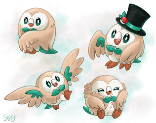 The Most Dapper of Birbs by Skjolty