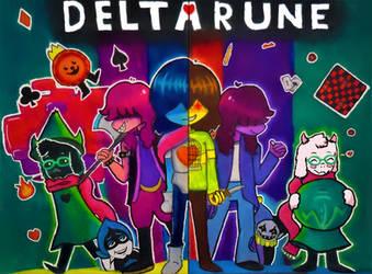 Deltarune by Sydelergy