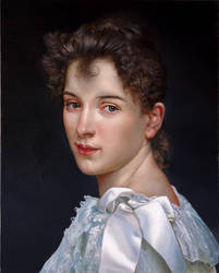 Madame Cot (Bouguereau) by TagesLucaBeni