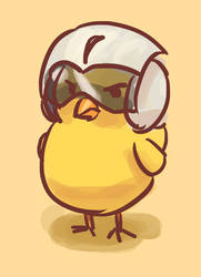 Angry Chick by Malnu123