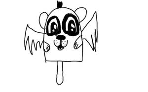 panda popsicle by jojorae1