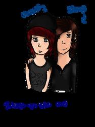 Andi and Stav c: by DarkAbyss48