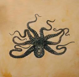 Octavio The Octopus by katstockton