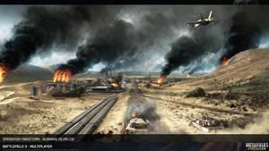 Battlefield 3 Artwork Operation Firestorm HD by Pixero111
