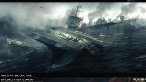 Battlefield 3 Artwork Wake Island HD by Pixero111